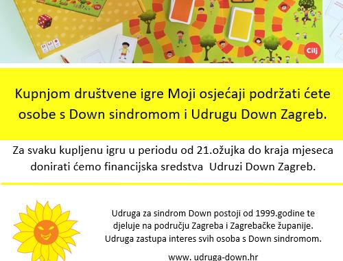 Podržite akciju za Udrugu Down Zagreb!