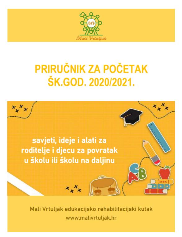 Priručnik za početak šk.god. 2020/2021